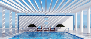 White Pavilion Pergola