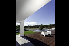 Pavilion Patio and wooden deck