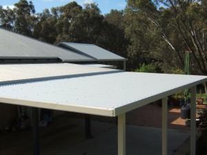 Flat Roof Patio